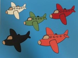 5 pc Planes